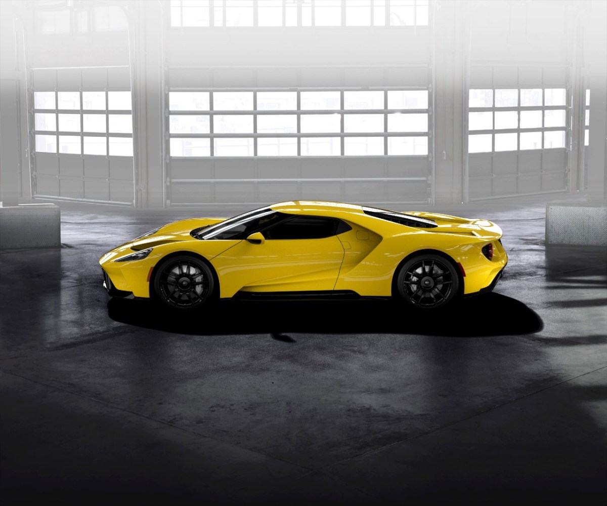 Triple-Yellow-Ford-GT-profile