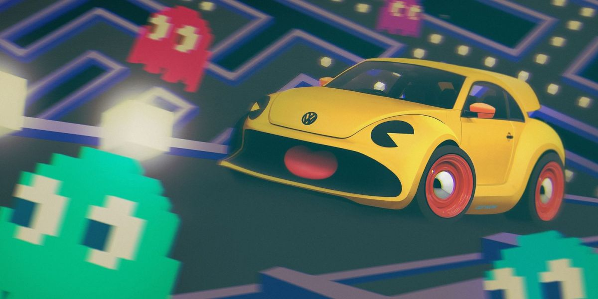 VW Beetle Coccinelle Pac Man