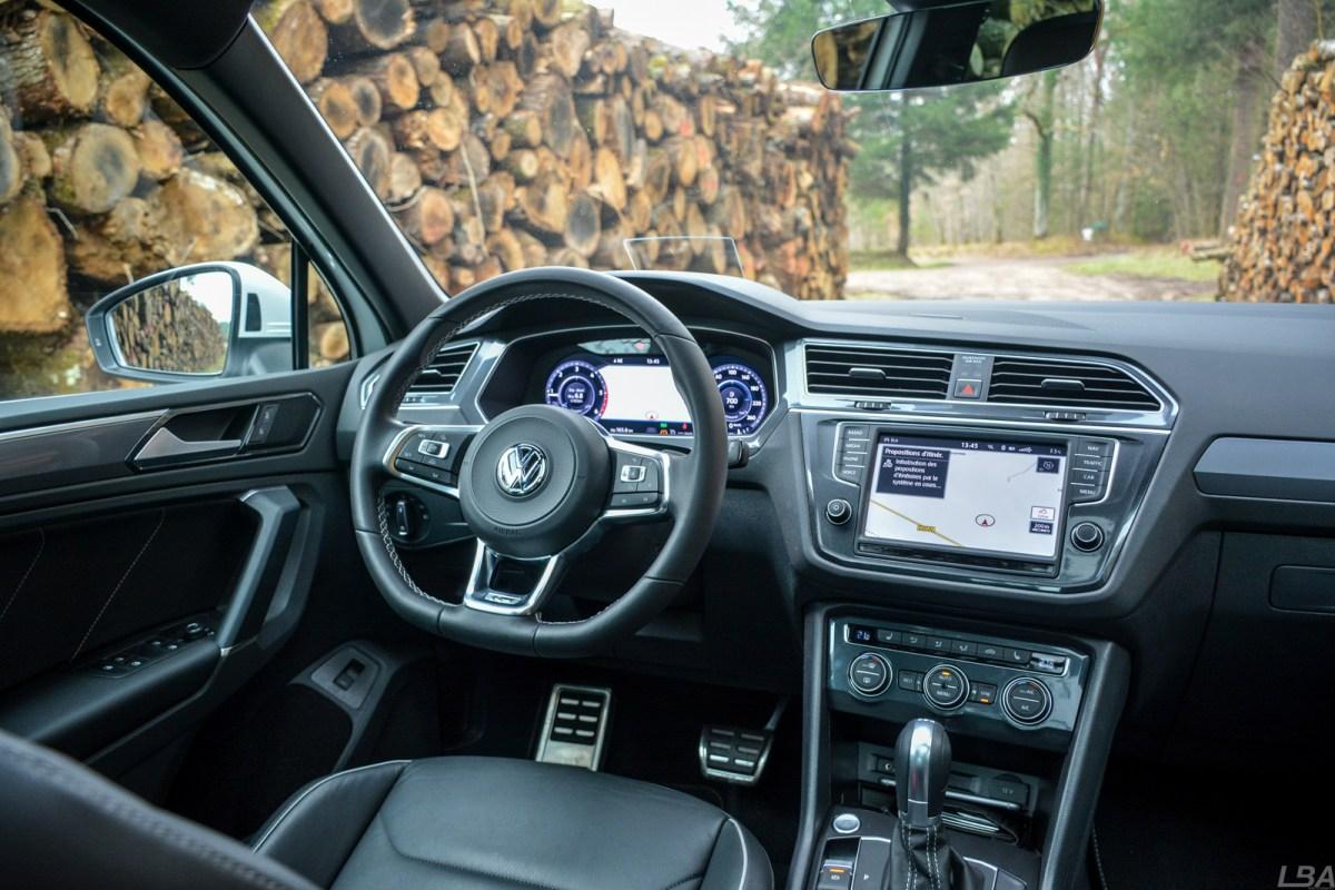 VW Tiguan BiTDI RLine Intérieur