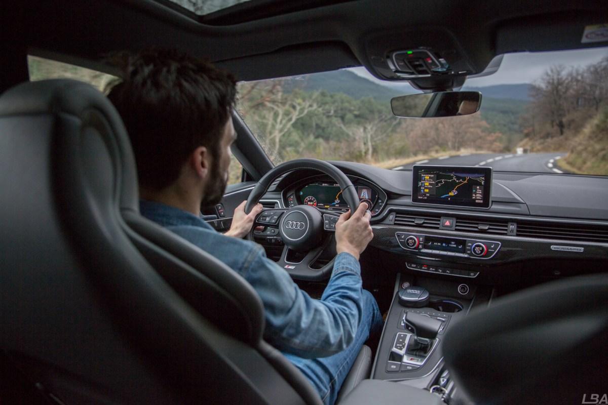 Audi S5 Sportbac intérieur