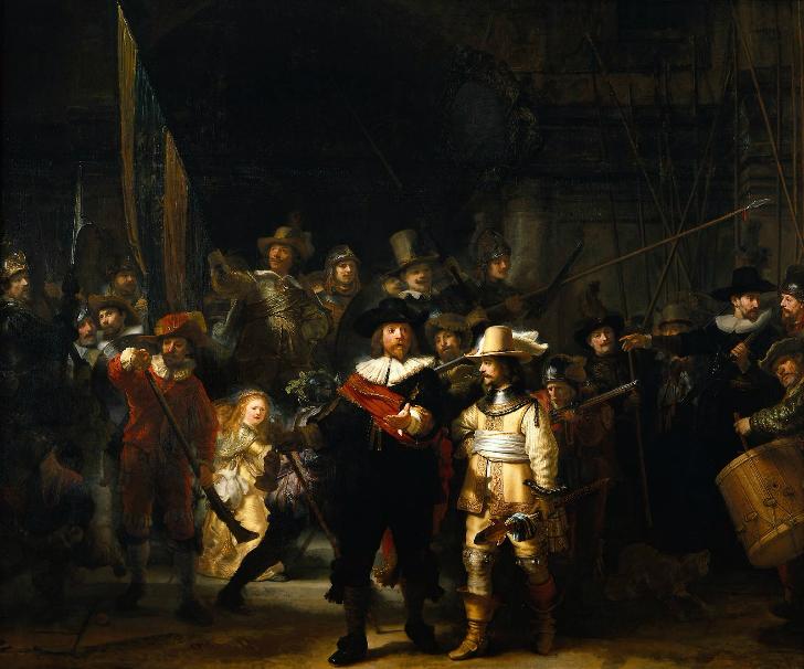 Rembrandt  - Gece Bekçileri