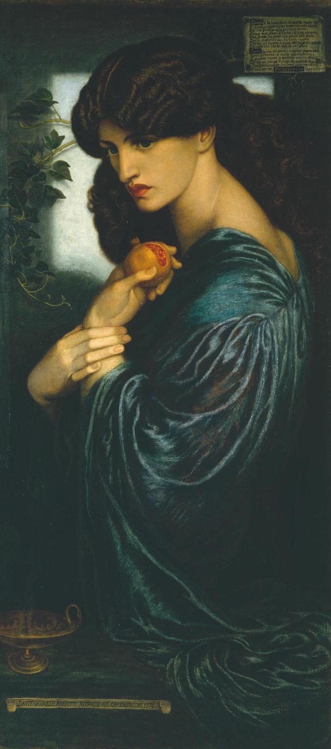 Dante Gabriel Rossetti Proserpine