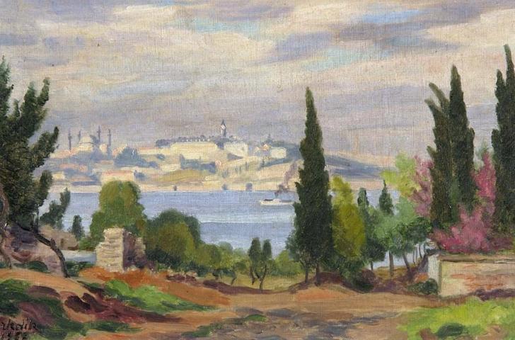 Şeref Akdik - Saray Burnuna Bakış