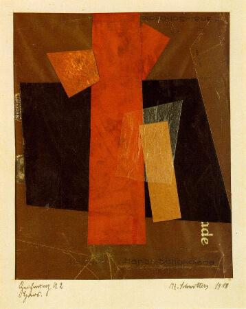 Kurt Schwitters, Zeichnung A2 Hansi, 1918