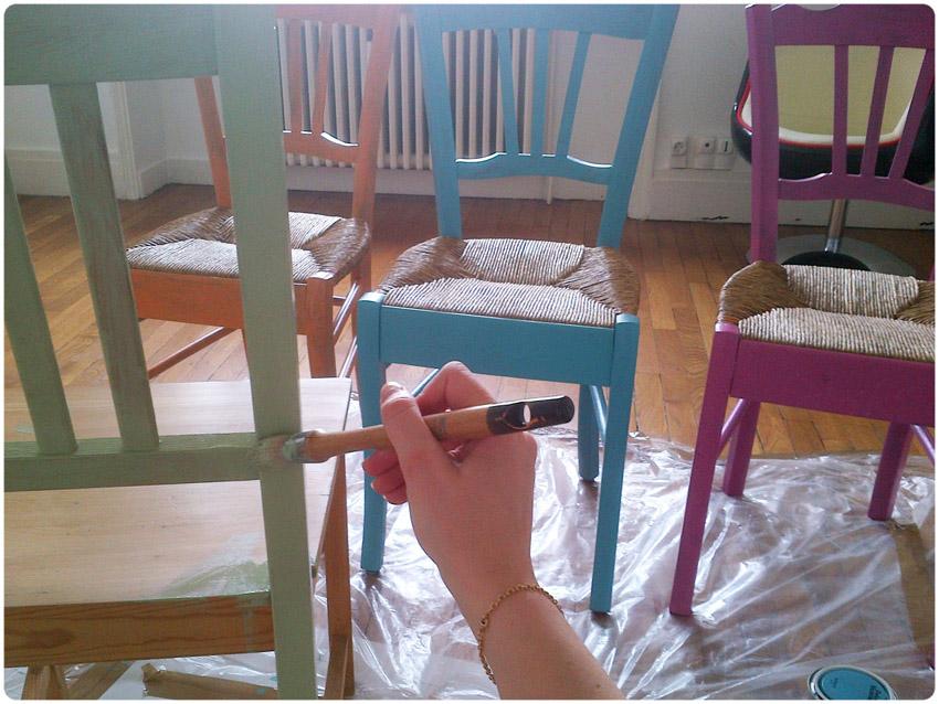 Peindre Une Chaise En Paille Gamboahinestrosa