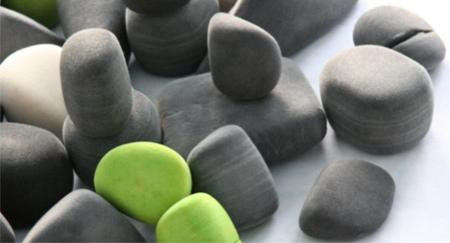 Felt Rocks Coussins En Forme De Pierre