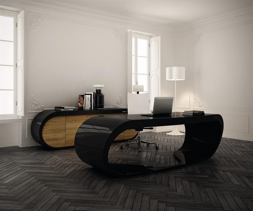 Google Desk Bureau Noir Design
