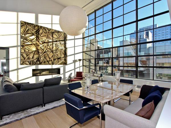 Penthouse Duplex Moderne New York