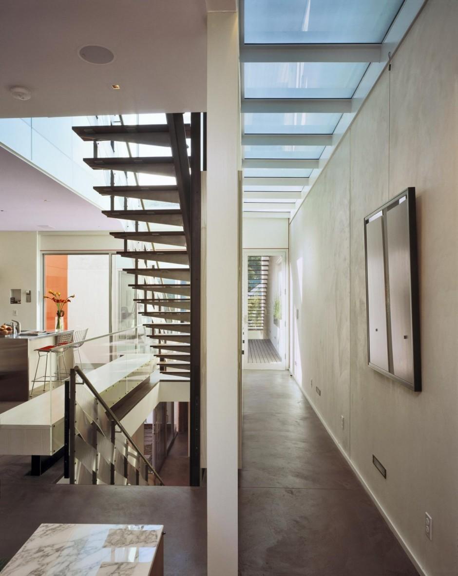 1532 House San Francisco Couloir Et Escalier