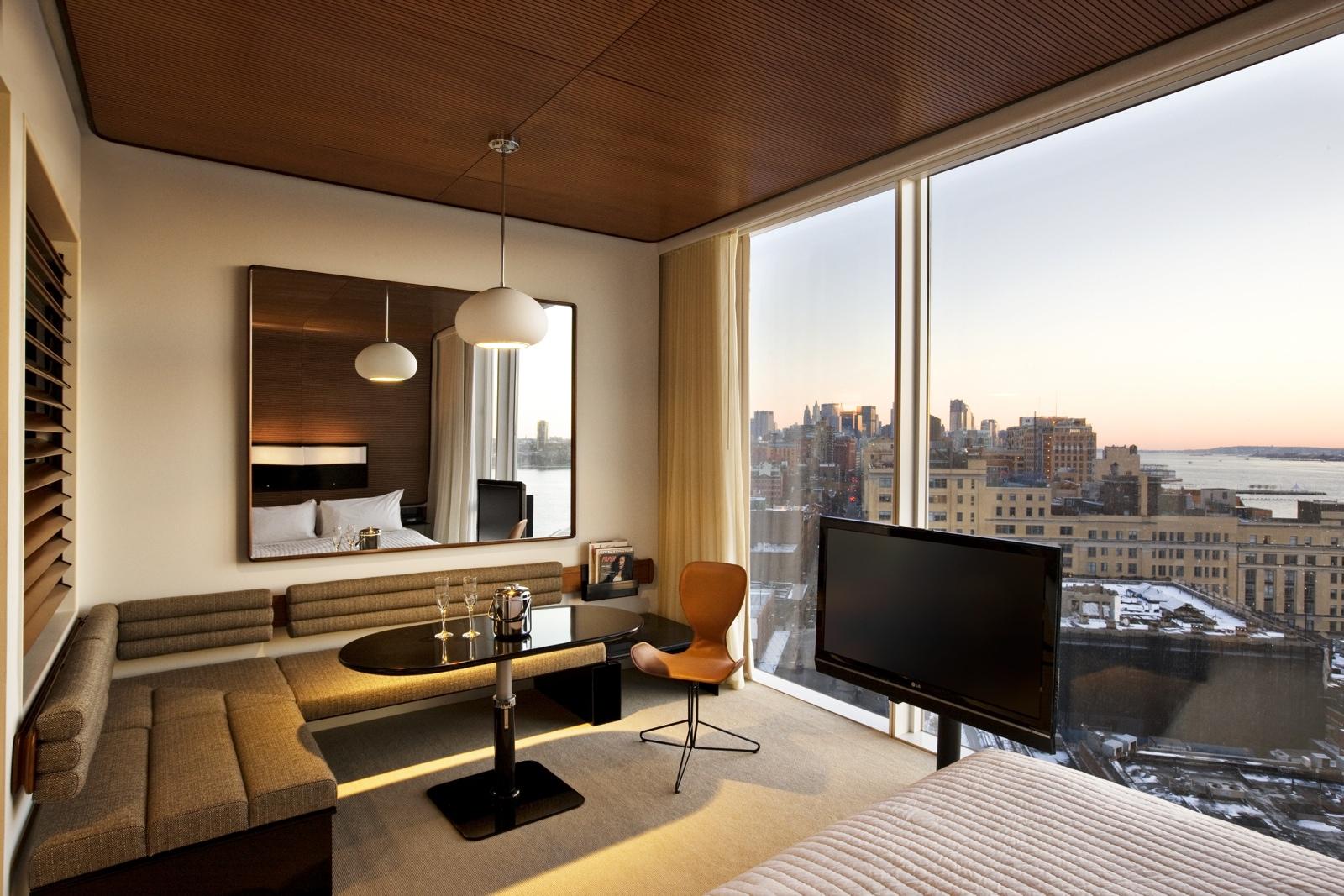 Un Htel Design Au Cur De Manhattan Avec Une Vue Couper