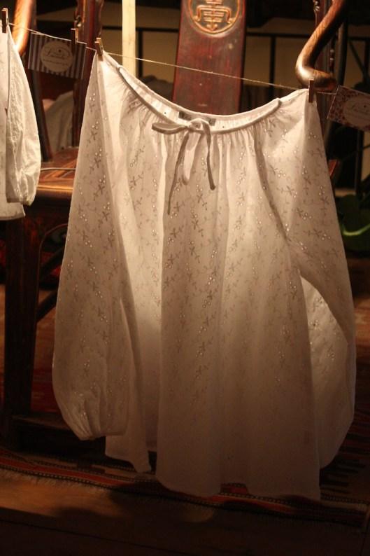 blouse blanche luciole