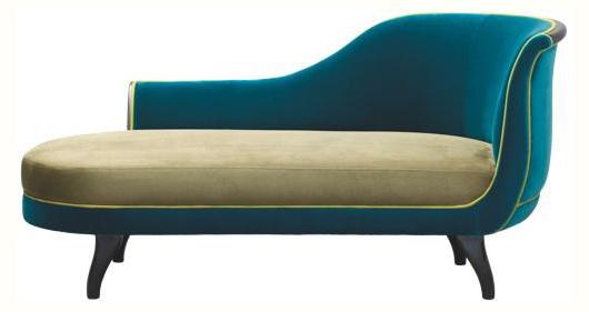 Canapé bicolore - Le blog déco de MLC