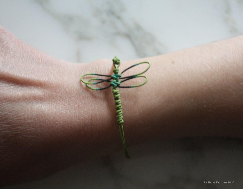 Les-créations-de-Aude-Tahon-Bracelet-libellule-verte