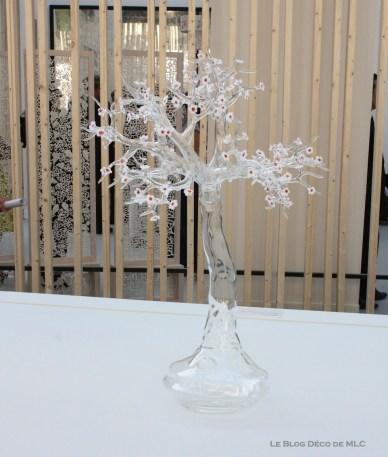 salon révélations arbre en verre