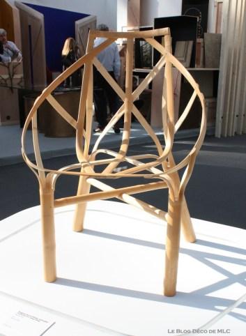 salon révélations chaise bambou cintré