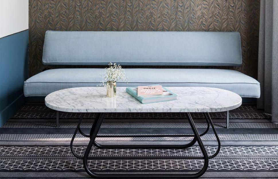 table basse ovale nouvelle tendance 2