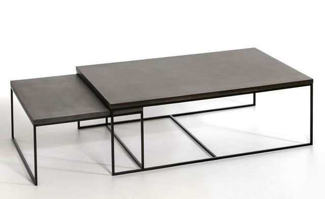 table-basse-design-gigogne-beton-metal