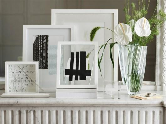 cadre-photo-blanc-deco-cheminee-blanche