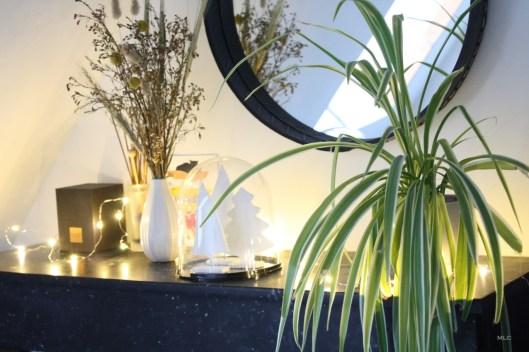 deco-cheminee-guirlande-plante-verte
