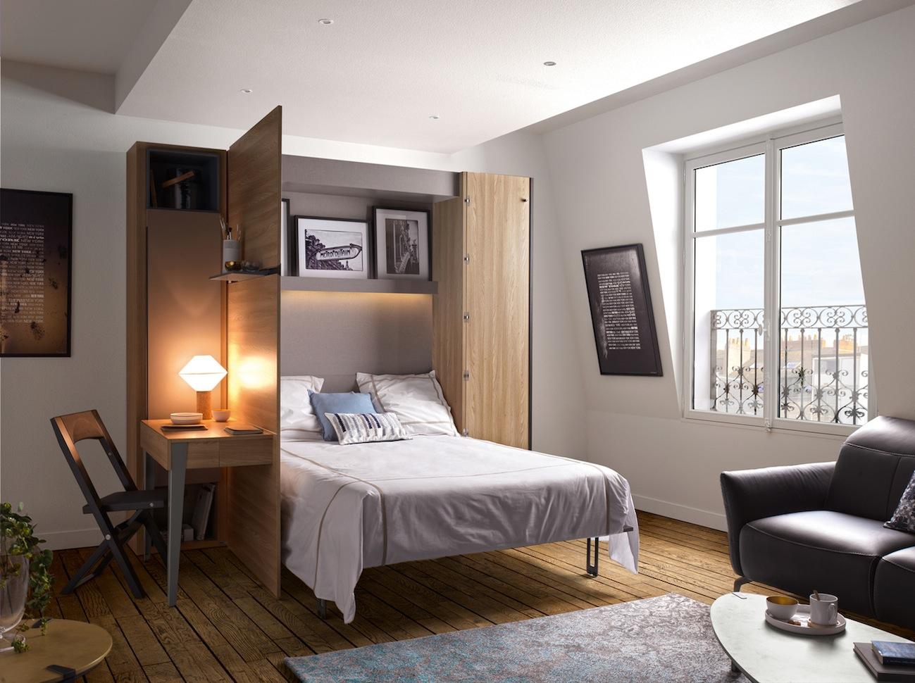 Armoire Gain De Place le lit escamotable armoire par les meubles gautier – le blog