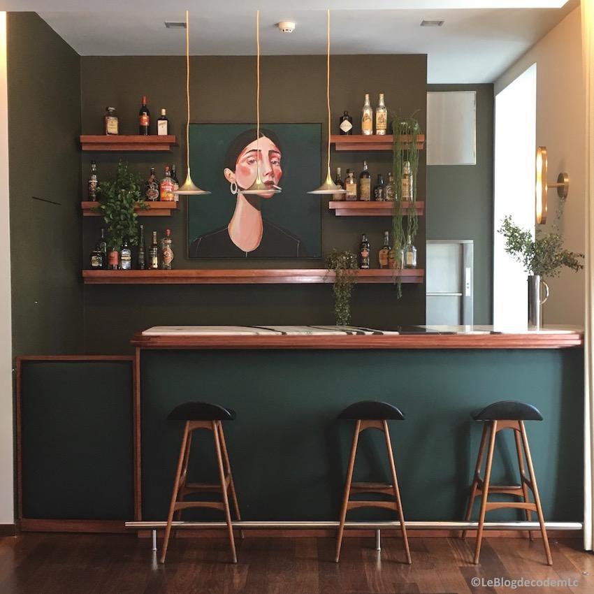 Waouh, Ju0027étais Aux Anges En Découvrant Cette Magnifique Cuisine Verte. 100%  Déco Design. Chic Et Design, On Aime Le Vert Dans La Déco. Ça Claque.