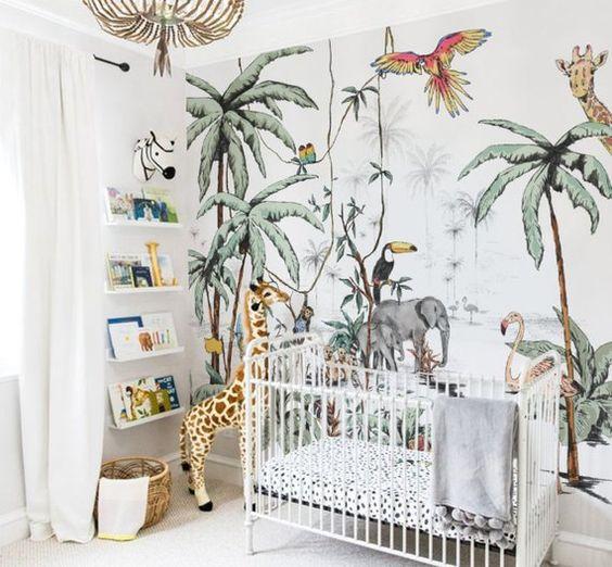 La Deco Tropicale Dans La Chambre Enfant Le Blog Deco De Mlc