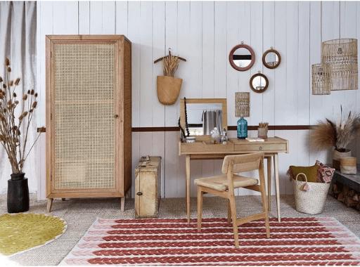 armoire cache séchoir à linge joli et déco