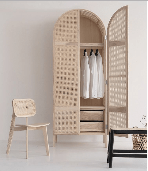 armoire cannage collection cane