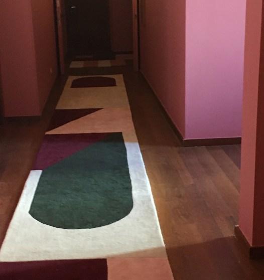 tapis design arche hotel