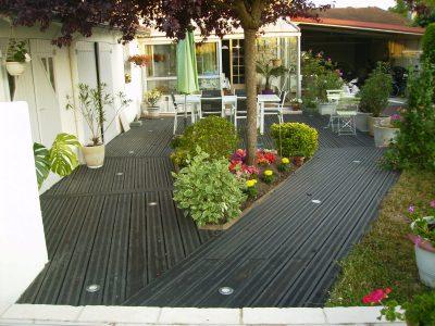 Terrasse en Pin Radiata