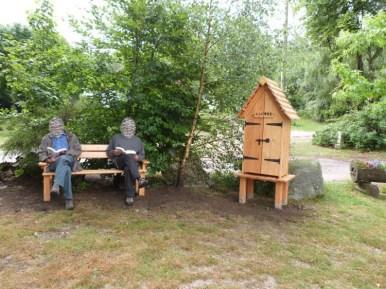 Cabane à Livres d'Uchon