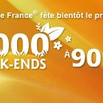 2000 week-ends Gites de France à 90€