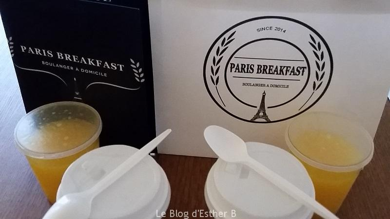 livraison de petit d jeuner luxe paris breakfast le blog d 39 esther b. Black Bedroom Furniture Sets. Home Design Ideas