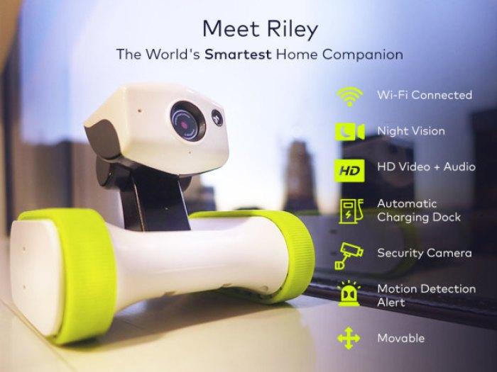 riley un robot connect pour votre maison le blog domotique. Black Bedroom Furniture Sets. Home Design Ideas