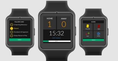 Refsix smartwatch arbitres football