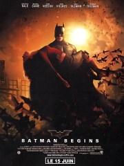 Affiche du film BATMAN BEGINS