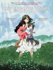 Affiche du film LES ENFANTS LOUPS - AME ET YUKI