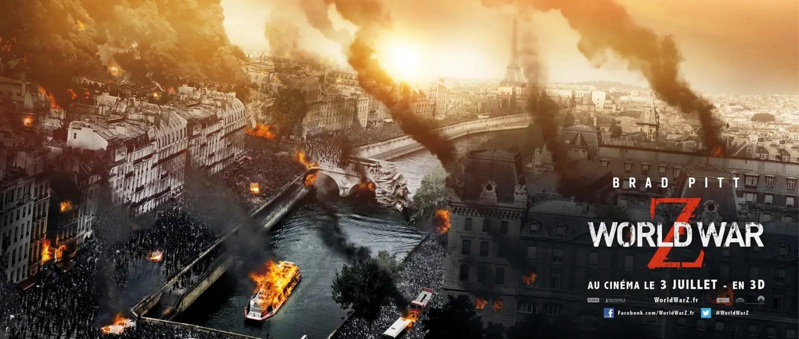[news] World War Z : Les affiches de destruction des grandes capitales