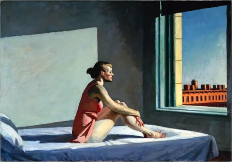 Edward Hopper, Morning Sun 1952