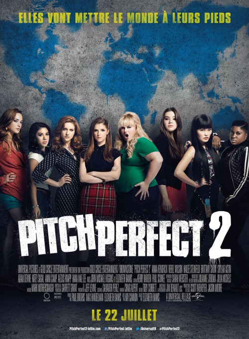 22 juillet 2015 - pitch perfect 2