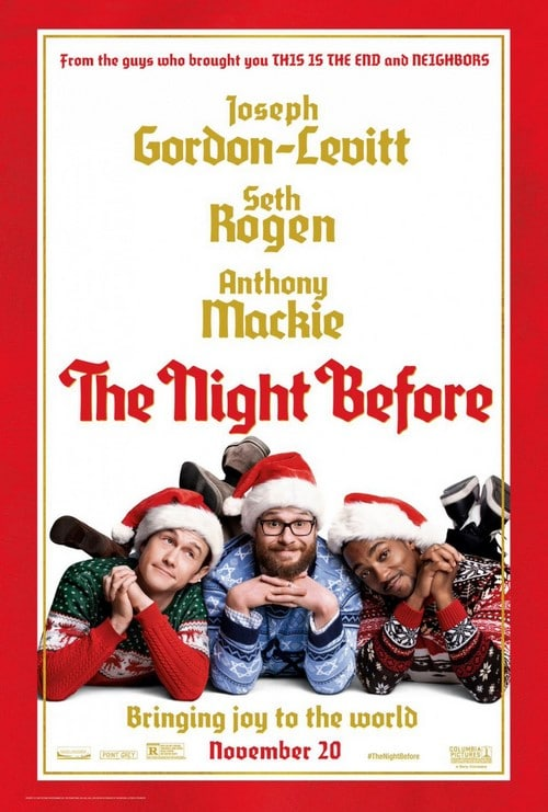 23 décembre 2015 - The Night Before