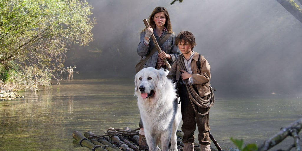 Film Belle et Sébastien, l'aventure continue... Réalisé par Christian DUGAY.Exode des animaux. Izermore - 02/10/2014