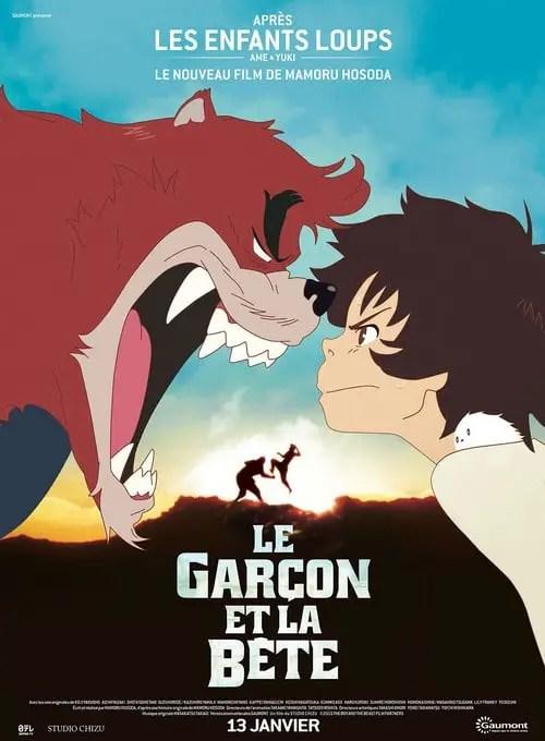 Affiche du film LE GARÇON ET LA BÊTE