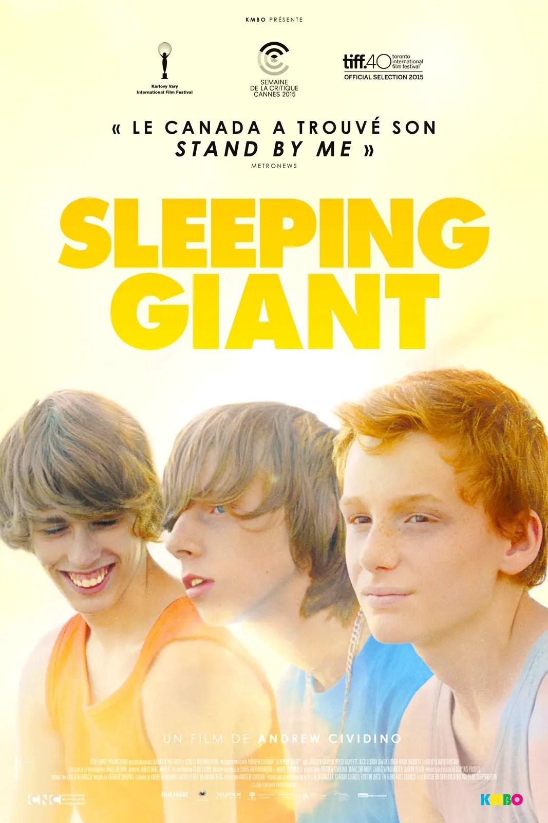 Affiche du film SLEEPING GIANT