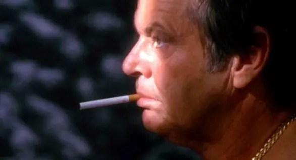 Jack Nicholson dans The Crossing Guard, tout tristounet