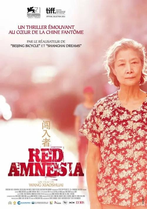 Affiche du film RED AMNESIA