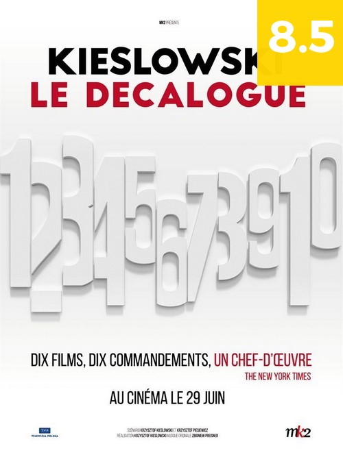 Affiche du cycle de films LE DÉCALOGUE