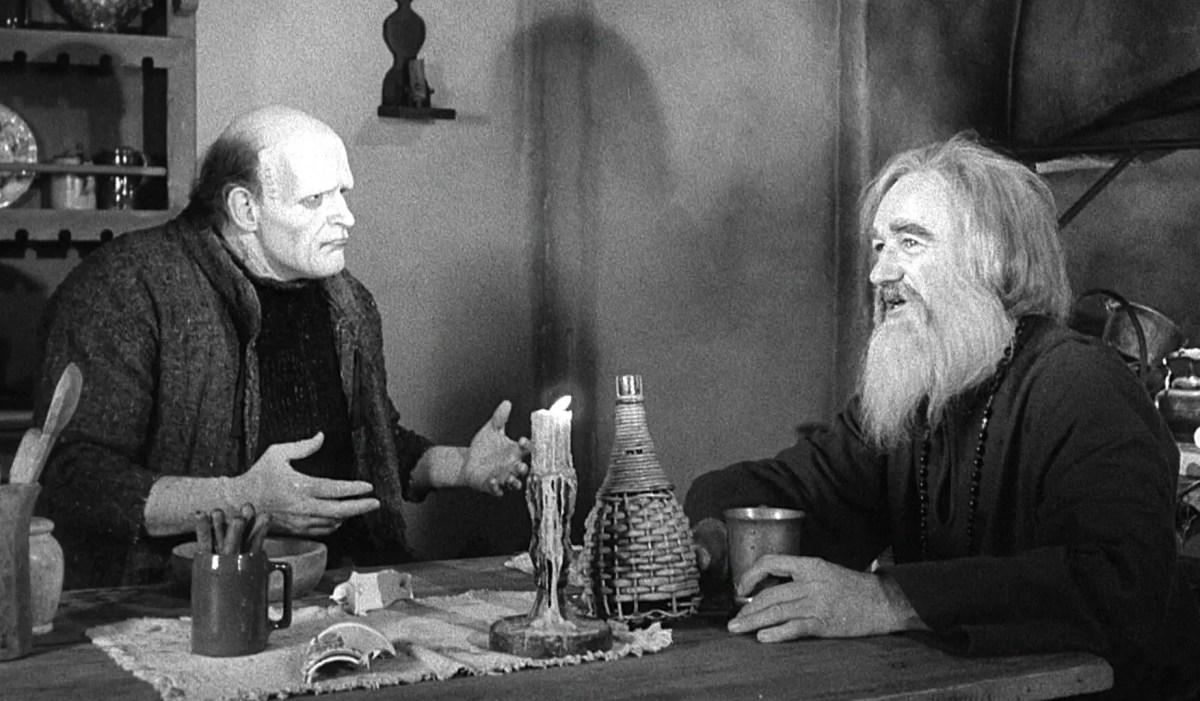 Peter Boyle et Gene Hackman (Frankenstein Junior, 1974)