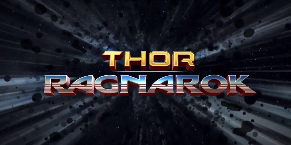 Affiche de Thor Ragnarok