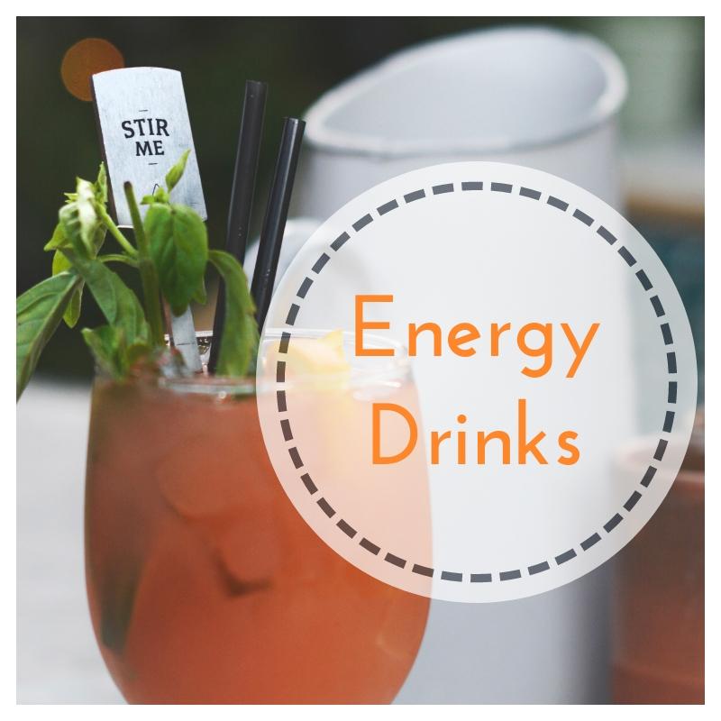 Energy Drinks, fanno bene? O meglio evitarli?